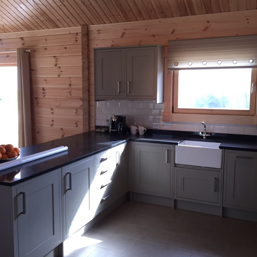 2 bedroom log cabin jk plumbing and heating for Two room log cabin