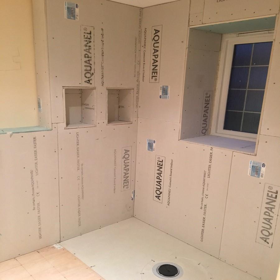 Aquapanel for bathrooms